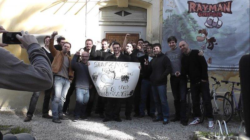 Il team di sviluppo di Rayman Legends, Michel Ancel compreso, protesta per il rinvio della versione Wii U