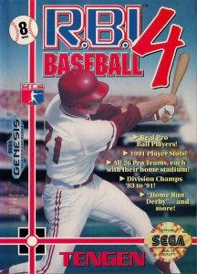 RBI Baseball 4 per Sega Mega Drive