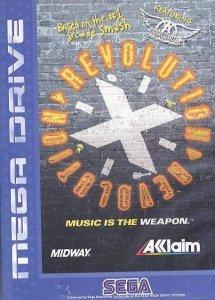 Revolution X per Sega Mega Drive