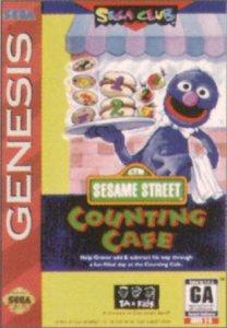 Sesame Street: Counting Cafe per Sega Mega Drive