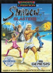 Shadow Blasters per Sega Mega Drive