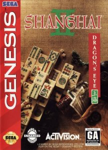 Shanghai 2: The Dragon's Eye per Sega Mega Drive