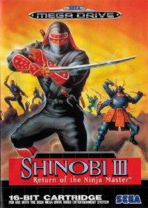 Shinobi III : Return of the Ninja Master per Sega Mega Drive