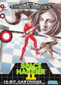 Space Harrier II per Sega Mega Drive