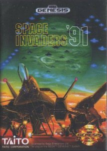 Space Invaders 91 per Sega Mega Drive
