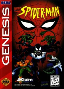 Spiderman the Animated Series per Sega Mega Drive