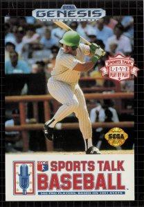 Sports Talk Baseball per Sega Mega Drive