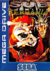 Subterrania per Sega Mega Drive