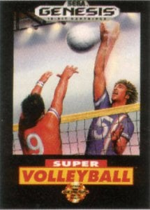 Super Volleyball per Sega Mega Drive