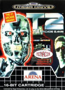 T2: The Arcade Game per Sega Mega Drive
