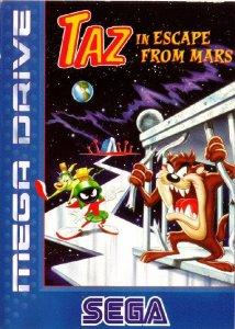 Taz in Escape from Mars per Sega Mega Drive