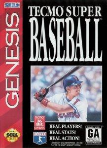 Tecmo Super Baseball per Sega Mega Drive