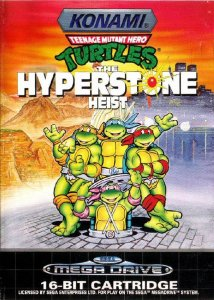 Teenage Mutant Ninja Turtles: The Hyperstone Heist per Sega Mega Drive