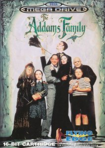 The Addams Family per Sega Mega Drive