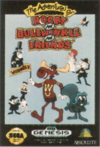The Adventures of Rocky and Bullwinkle and Friends per Sega Mega Drive