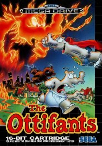 The Ottifants per Sega Mega Drive