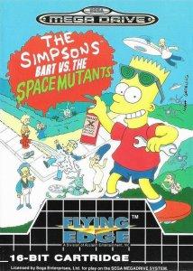 The Simpsons: Bart vs. the Space Mutants per Sega Mega Drive