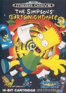 The Simpsons: Bart's Nightmare per Sega Mega Drive