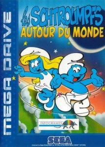 The Smurfs Travel The World per Sega Mega Drive