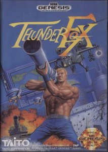 Thunder Fox per Sega Mega Drive