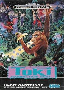 Toki per Sega Mega Drive
