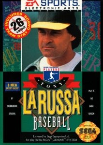 Tony La Russa's Ultimate Baseball per Sega Mega Drive