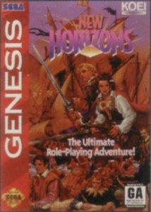 Uncharted Waters: New Horizons per Sega Mega Drive