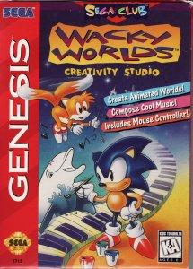 Wacky Worlds Creativity Studio per Sega Mega Drive