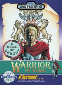 Warrior of Rome per Sega Mega Drive