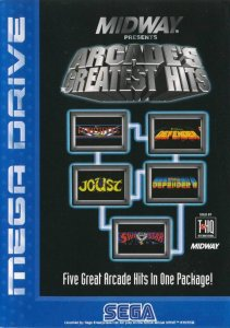 Williams Arcade's Greatest Hits per Sega Mega Drive