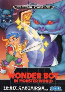 Wonder Boy in Monster World per Sega Mega Drive