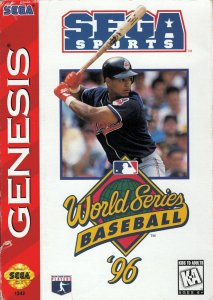 World Series Baseball '96 per Sega Mega Drive