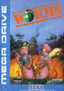 Worms per Sega Mega Drive