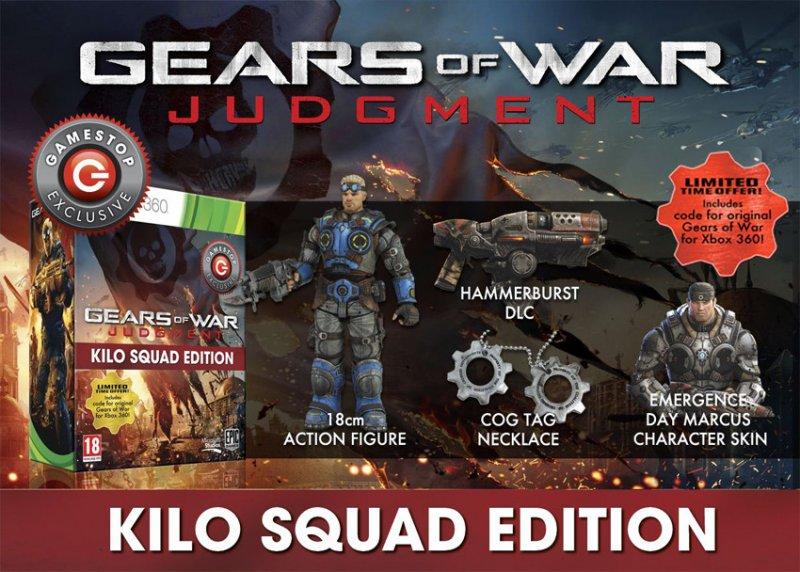 Gears of War: Judgment già finito nei canali pirata, intanto è spuntata l'edizione speciale