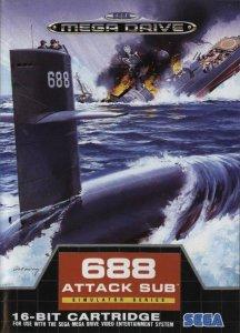 688 Attack Sub per Sega Mega Drive