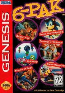 6-Pak per Sega Mega Drive