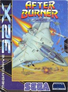 After Burner per Sega Mega Drive 32X