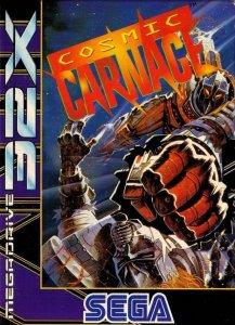 Cosmic Carnage per Sega Mega Drive 32X