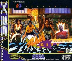 Slam City with Scottie Pippen per Sega Mega Drive 32X