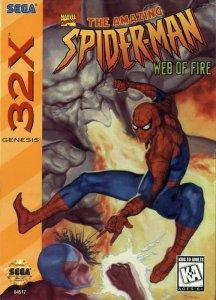 Spider-Man: Web of Fire per Sega Mega Drive 32X