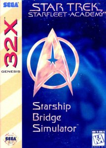 Star Trek: Starfleet Academy Starship Bridge Simulator per Sega Mega Drive 32X