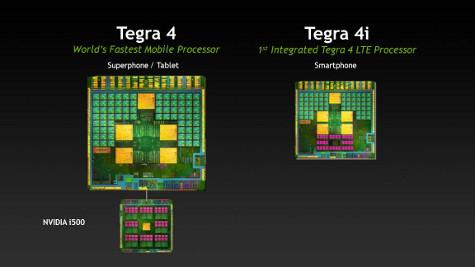 Nvidia porta Tegra 4 su smartphone