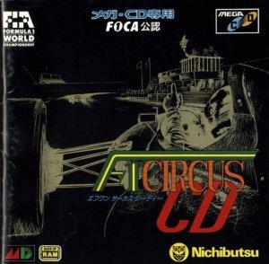 F-1 Circus CD per Sega Mega-CD
