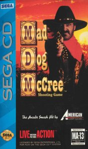 Mad Dog McCree per Sega Mega-CD