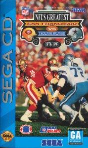 NFL's Greatest: San Francisco Vs. Dallas 1978-1993 per Sega Mega-CD
