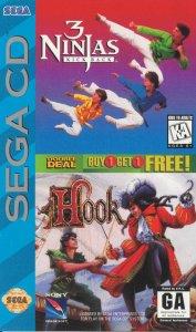 3 Ninjas Kick Back - Hook per Sega Mega-CD