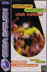 Actua Soccer per Sega Saturn