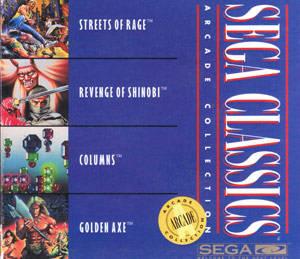 Sega Classics Arcade Collection 4-in-1 per Sega Mega-CD