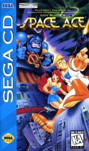 Space Ace per Sega Mega-CD