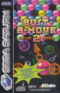 Bust-A-Move 2 Arcade Edition per Sega Saturn